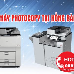 Bán máy photocopy tại Hồng Bàng