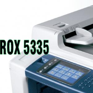 Chi tiết máy photocopy Xerox 5335