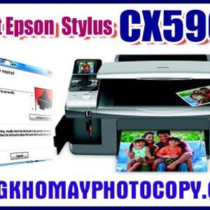 Reset máy in Epson Stylus CX5900