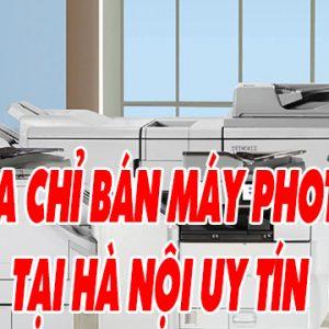 Địa chỉ bán máy photocopy tại Hà Nội uy tín