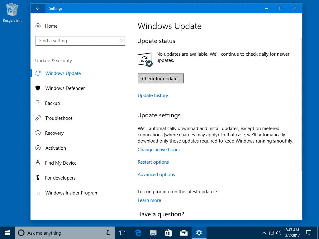 Đã có bản xem trước về bản cập nhật tích lũy tiếp theo của Microsoft dành cho Windows 10 và nó có khả năng tăng tốc PC của bạn.