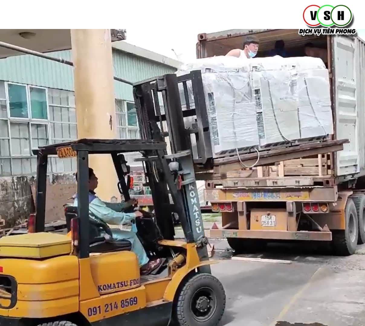 Dỡ container Ricoh MP 5054