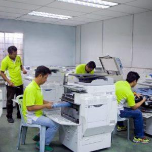 Cách vệ sinh máy photocopy ricoh đúng cách
