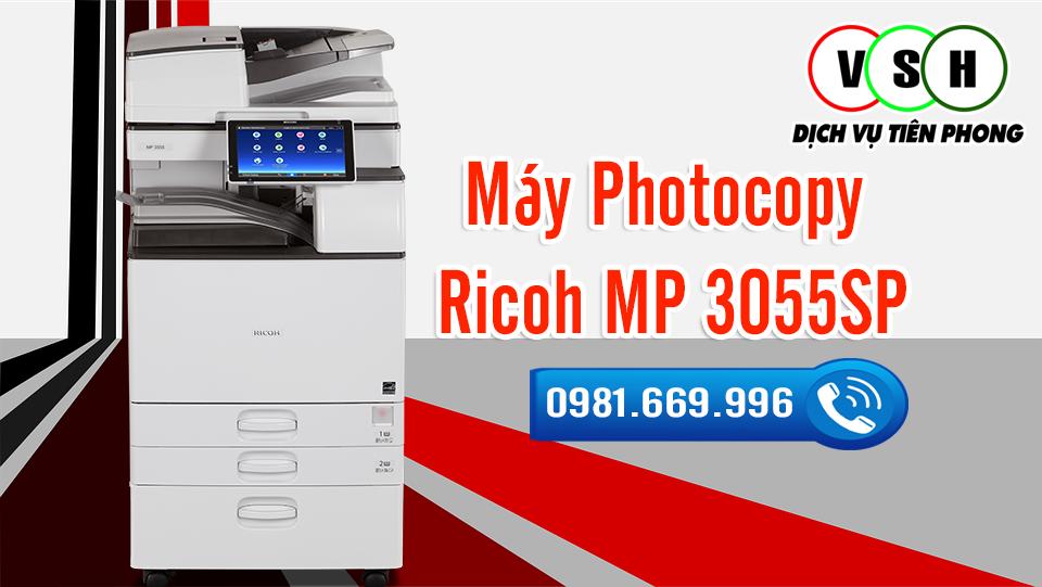 Đánh giá máy photocopy Ricoh MP 3055