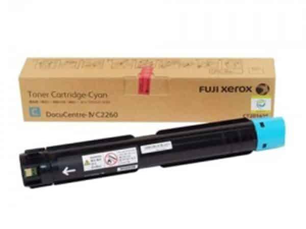 Hộp mực màu Fuji Xerox CT201435 xanh