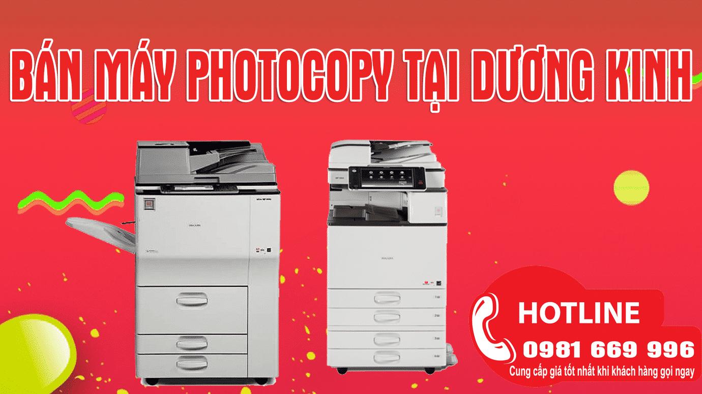 Dịch vụ cho thuê máy photocopy tại Dương Kinh giá rẻ