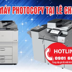 ban may photocopy tai le chan