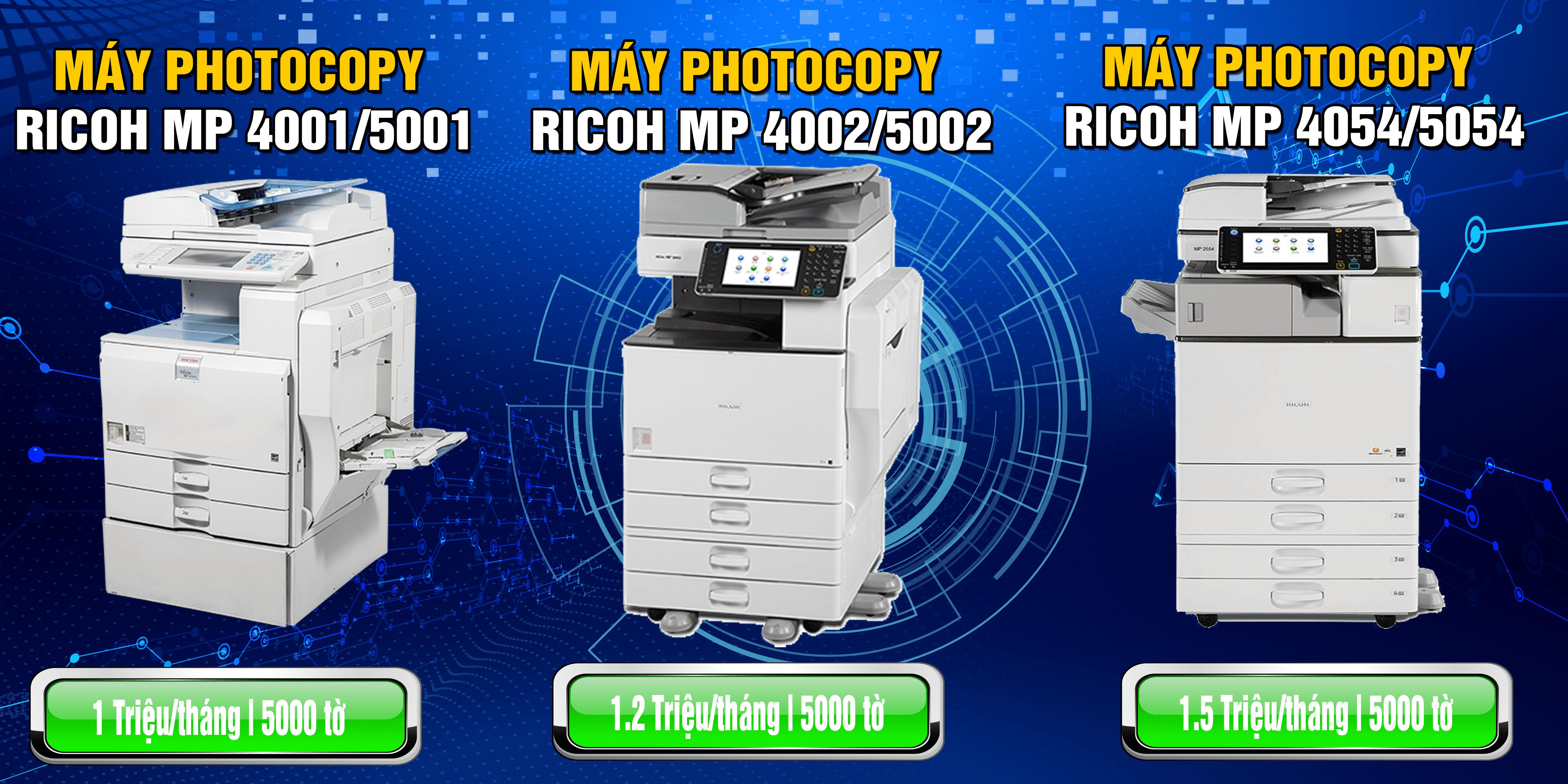 Dich vu Cho thue may photocopy tai Hai Phong
