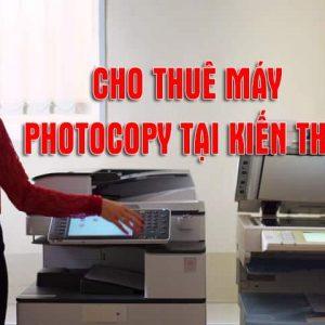 Cho thuê máy photocopy tại Kiến Thụy