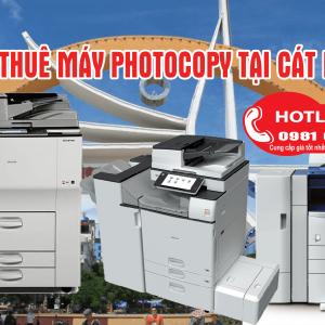 Cho thuê máy photocopy tại Cát Hải siêu rẻ