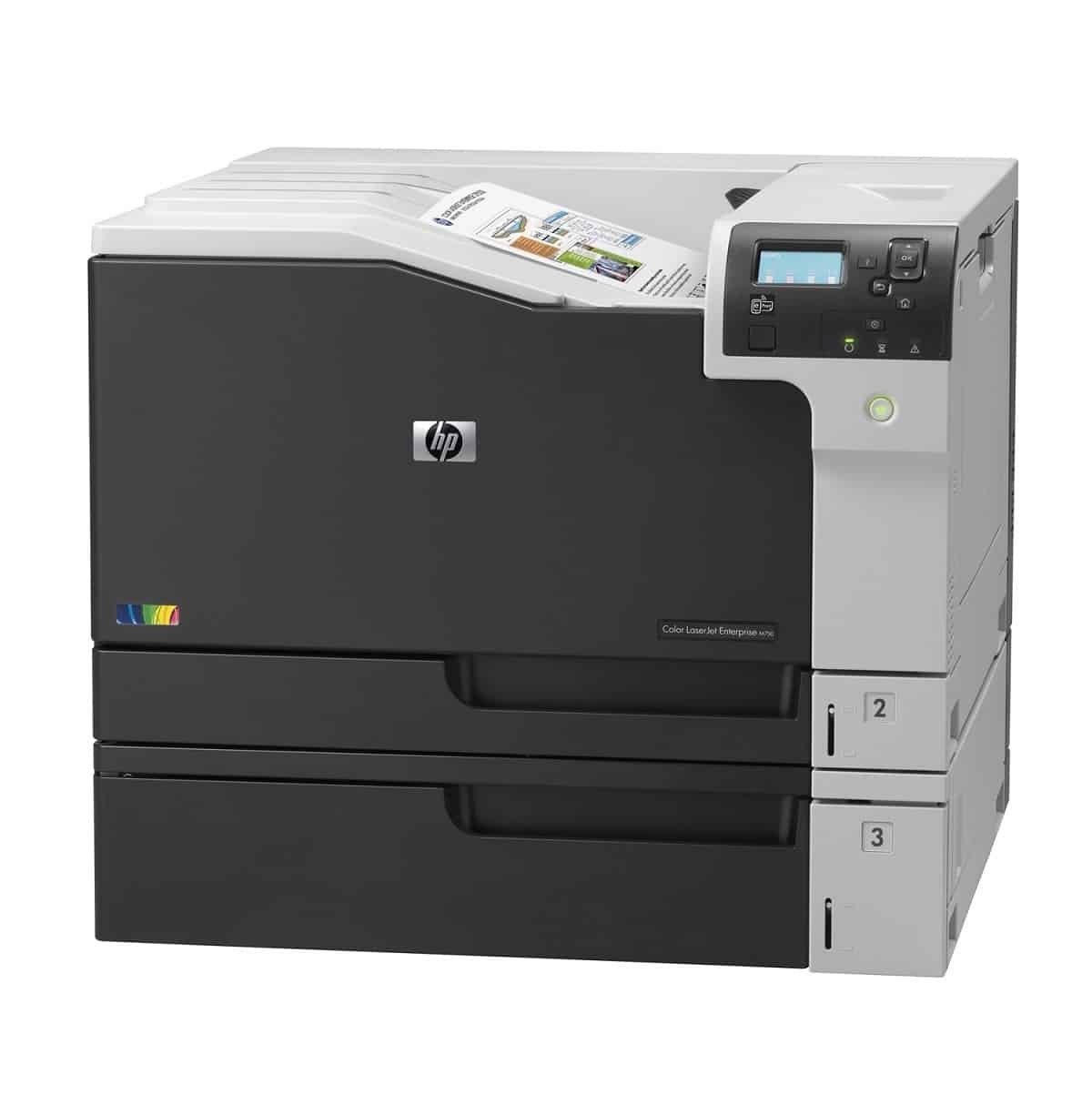Máy in màu Hp Color LaserJet Enterprise M750n