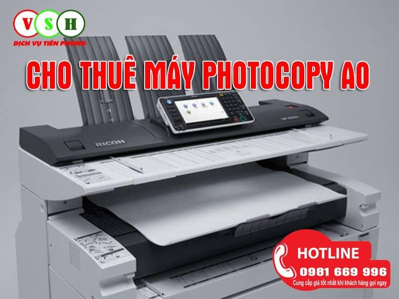 Cho thuê máy photocopy A0 tại Hạ Long