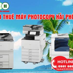 Cho thuê máy photocopy tại Hải Phòng giá rẻ