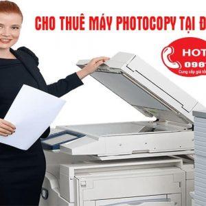 Cho thuê may photocopy tại Uông Bí