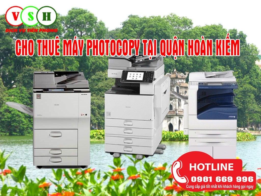 Cho thuê máy photocopy tại Quận Hoàn Kiếm