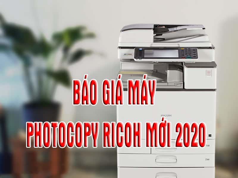 Bao gia may photocopy Ricoh moi 2020
