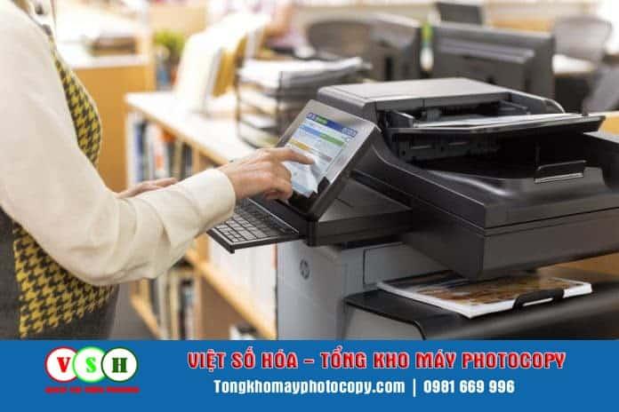 cho thue may photococopy tien hai thai binh
