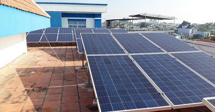 Lắp điện năng lượng mặt trời tại Lê Chân Hải Phòng