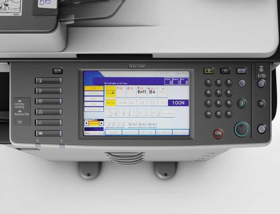 mat ban may photocopy ricoh