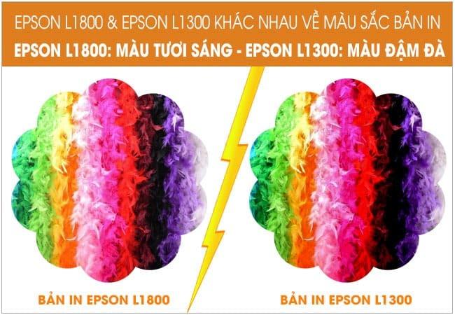 so sanh epson l1300 va l1800 ve mau sac ban in