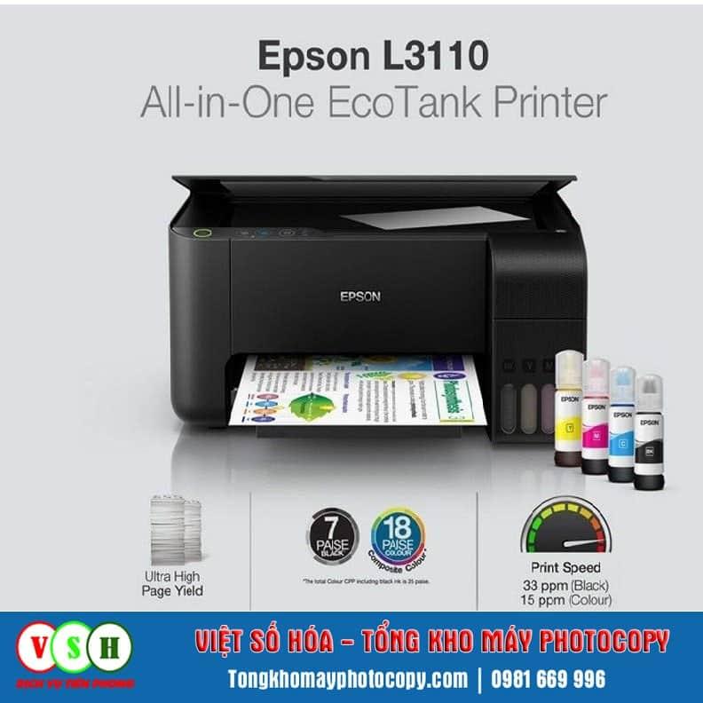 Tính năng máy in Epson L3110