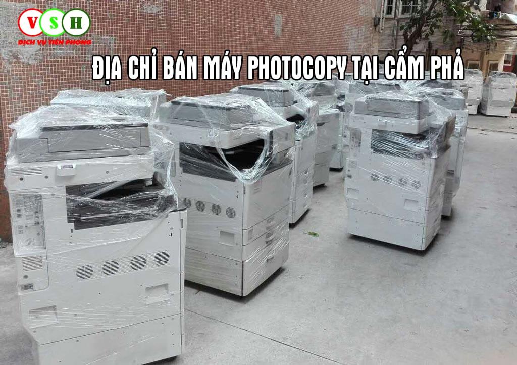 Bán máy photocopy tại Cẩm Phả