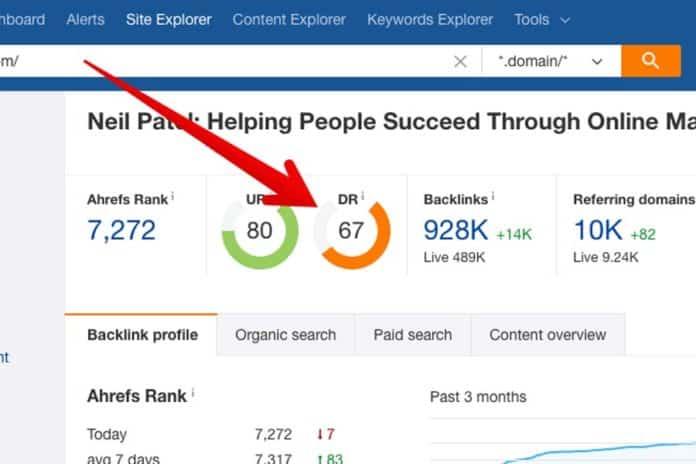 Cách tăng chỉ số dr cho website