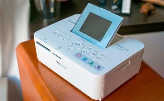 Máy in ảnh Canon Selphy CP1000 được thiết kế hiện đại