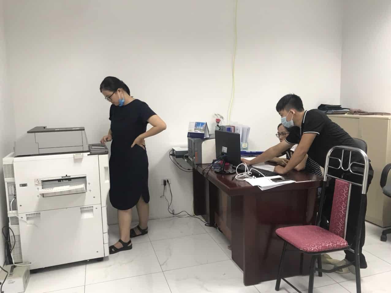 bán máy photocopy tại Uông Bí