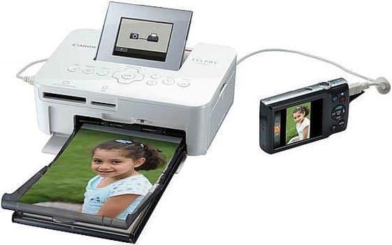 Máy in ảnh Canon Selphy CP1000 sử dụng cổng USB