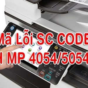 Mã lỗi SC CODE MP 5054