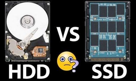 So sánh ưu và nhược điểm ổ SSD và HDD