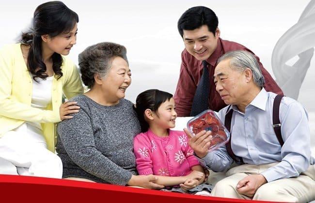 Tổ yến rất tốt cho người cao tuổi