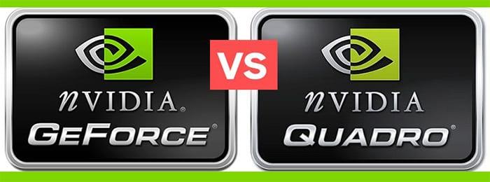 Quadro vs GeForce dùng cho 2 mục đích khác nhau