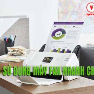 Hướng dẫn sử dụng máy fax