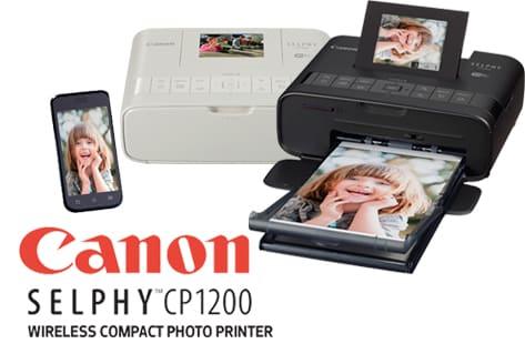 Máy in ảnh giấy nhiệt CANON Selphy CP1200