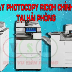 Bán máy photocopy ricoh tại Hải Phòng