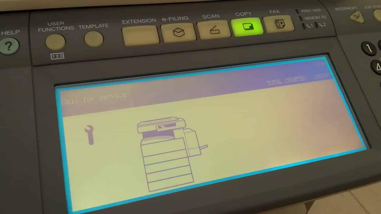 may photocopy toshiba bao loi c440 2
