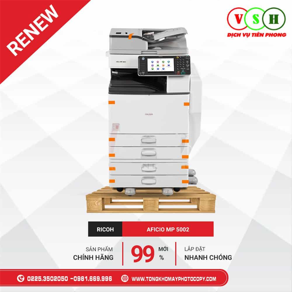 May Photocopy Renew Ricoh MP 5002