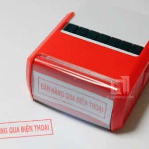 Khắc Dấu bán hàng qua điện thoại tại Hải Phòng