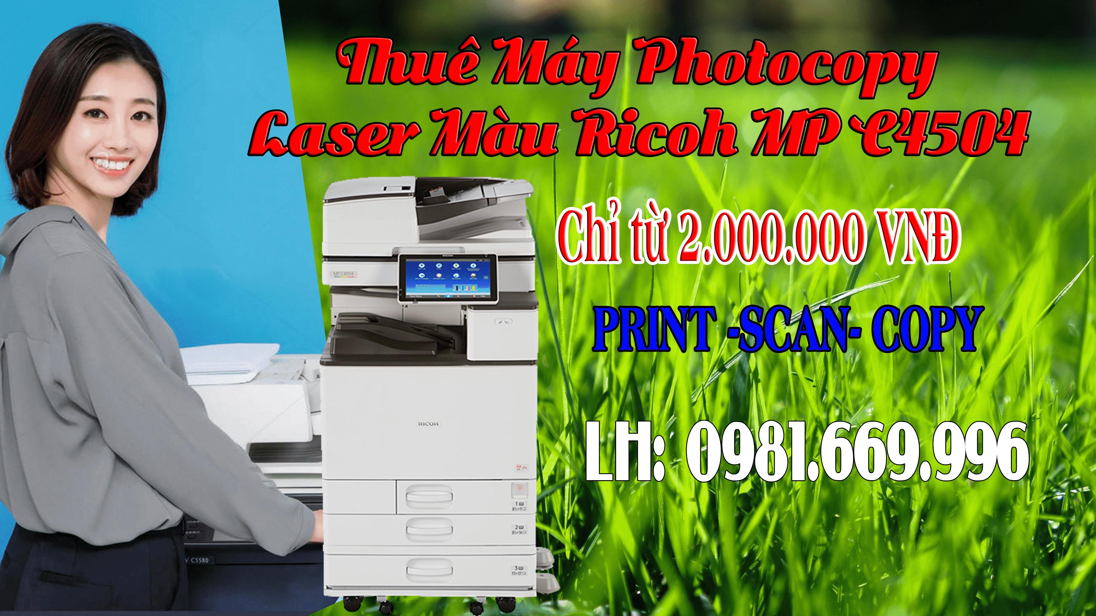 photocopy cho thue