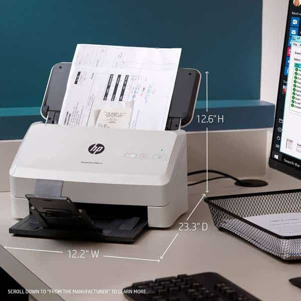 May scan HP Pro 3000 S3