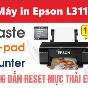 Reset Counter May in Epson L3110