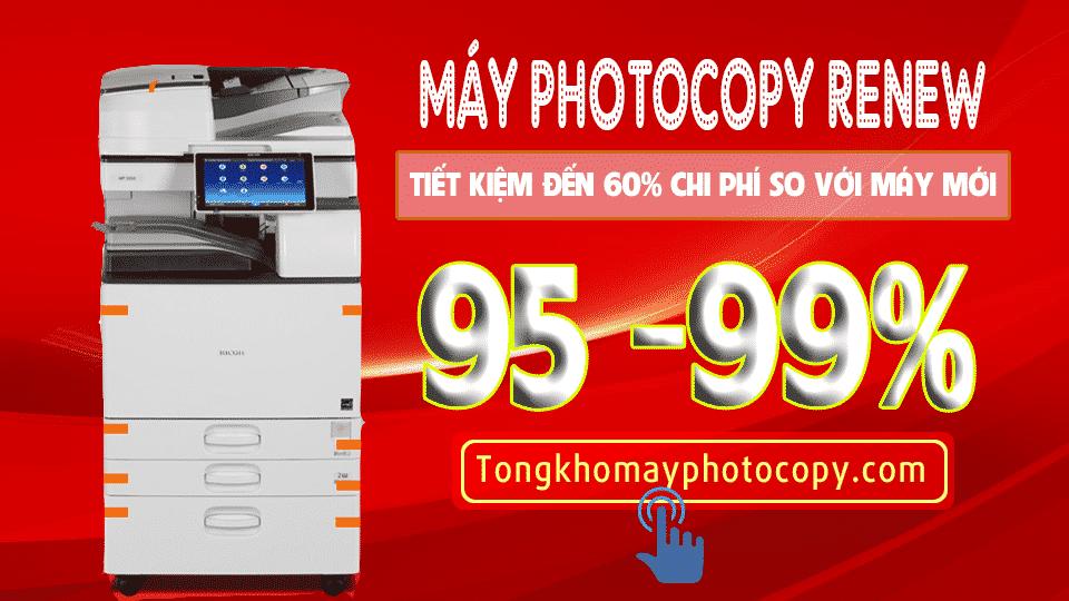 4 Lý Do Nên lựa chọn Mua Máy Photocopy Renew