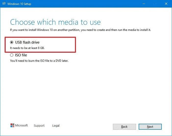 Cách cài đặt Windows 10 từ USB có hỗ trợ UEFI