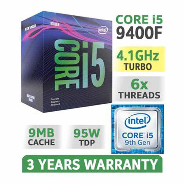 CPU Intel Core i5 9400F 2