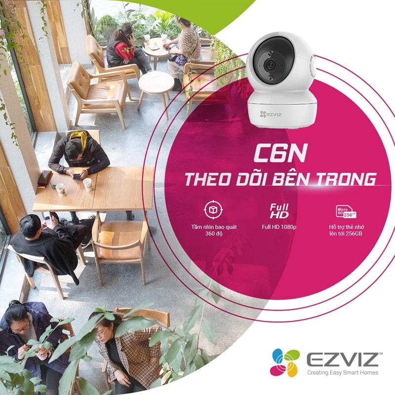 Camera Wifi thông minh EZVIZ C6N