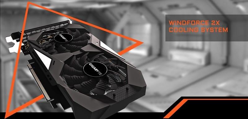 GIGABYTE GeForce GTX 1650 4GB GDDR5 OC 1