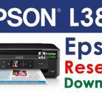 Epson L380 Resetter Adjustment Program Free Download