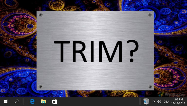 Featured How to Enable or Disable TRIM Support for Solid State Drives SSD in Windows 10 768x436 1